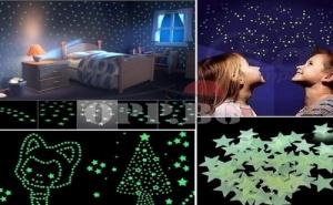 Флуоресцентни Фигурки за Детска Стая
