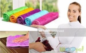 Комплект Микрофибърни Кърпи за Почистване