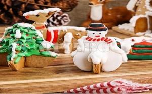 Метални Форми за Коледни Сладки и Бисквити