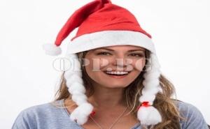 Дамска Коледна Шапка