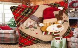 Възглавница с Коледен Елен