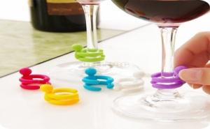 Забавни Маркери за Стъклени Чаши Сет 12 бр