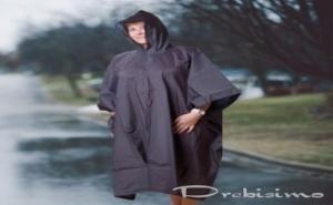 Дъждобран Пончо Подсилен