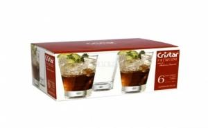 Сет от 6 броя стъклени коктейлни чаши Cristar Premium 6 Glasses