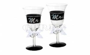 Чаши за Шампанско Господин и Госпожа