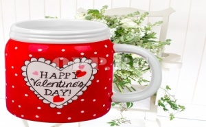 Керамична Чаша за Свети Валентин