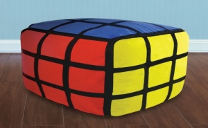 Надуваема Табуретка - Кубчето на Рубик