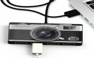 """USB Хъб """"Super Hub"""" с 4 USB порта"""