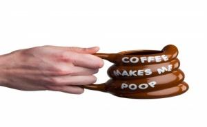 Чаша за Кафе Coffee Makes me Poop