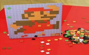 Магнитна Мозайка super Mario