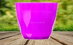 Цветна Фасетирана Чаша за Безалкохолно