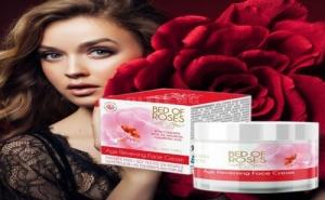 Подмладяващ Крем за Лице с Розово Масло Bed of Roses