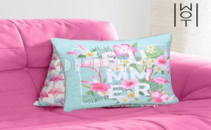Възглавница Фламинго