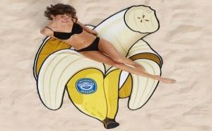 Плажна Кърпа – Банан (199 Х 127См.)