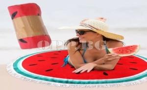 Голяма Постелка за Плаж или Пикник Диня