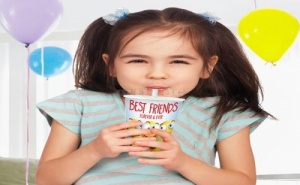Детска Чаша с Вградена Сламка Titiz