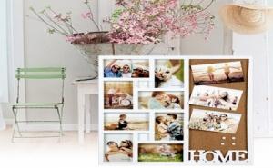 Комбинирана Рамка за Снимки Home