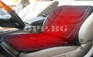 Подгряваща Постелка за Автомобилна Седалка