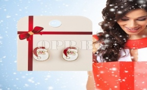 Дамски Обеци Дядо Коледа
