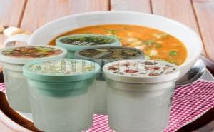 3 Броя Кутии с Винт и Уплътнение за Съхранение на Манджи и Супи
