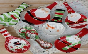 Керамична Коледна Подложна Лъжица