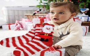 Коледни Детски Чорапи Дядо Коледа
