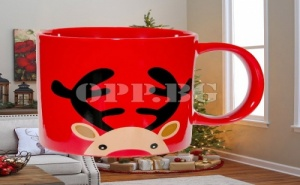 Керамична Коледна Чаша Еленче