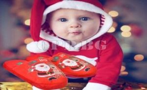 Супер Топли Детски Коледни Чехли