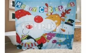 Завеса за Баня Дядо Коледа и Приятели