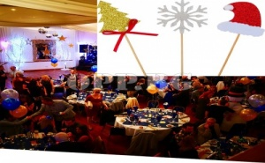 Сет от 18 Броя Коледни Парти Клечки за Хапки