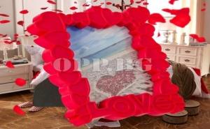 Романтична Рамка за Снимки от Сърца Love