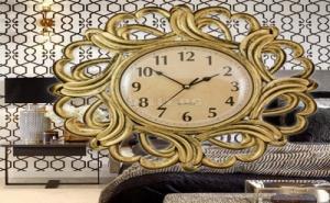 Стенен Часовник с Орнаменти