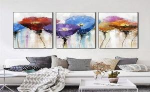 Картина Пано за Стена от Три Части