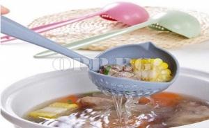 Кухненски Черпак с Вградена Цедка 2 в 1