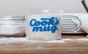 Стъклена Чаша за Готвачи с Мерни Единици (500Мл.)
