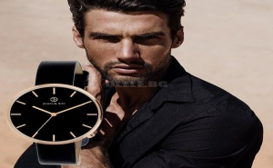 Стилен Мъжки Аналогов Часовник James & Son
