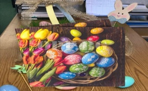 Уникални Великденски Салфетки Лалета с Яйца