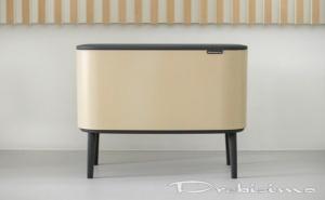 3 х 11 л. кош в цвят минерално сахара Brabantia серия Bo Touch