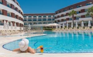 Майски празници в Бодрум, Турция! 7 Ultra All Inclusive нощувки в Хотел Grand Park Bodrum 5* с Далла Турс!
