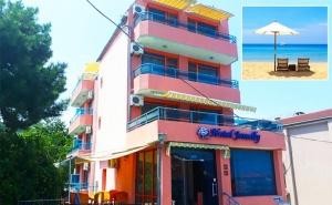 Море 2019Г на Топ Цени! Нощувка с Възможност за Закуска, Обяд и Вечеря + Ползване на Сауна в Хотел Джемелли, Обзор!