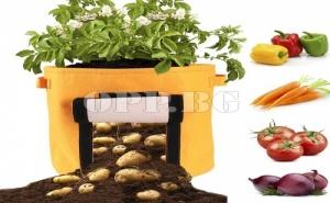 Чанта за Отглеждане на Картофи и Зеленчуци