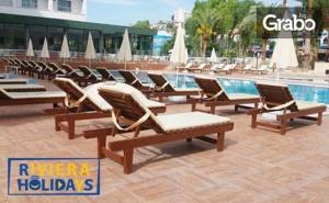 За 22 Септември в <em>Кушадасъ</em>! 5 нощувки със закуски и вечери в хотел Ayma Beach Resort & Spa****