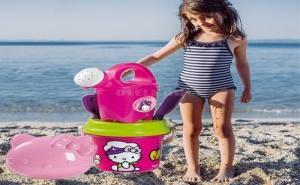 Детски Комплект за Игра в Пясъка Hello Kitty