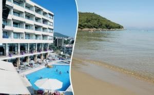На Първа Линия в <em>Кушадасъ</em>, Турция! 5 Нощувки на човек със Закуски и Вечери + Басейн в Хотел Айма Бийч Ризорт****