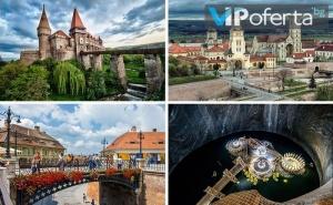 """Сибиу, Замъка Хунедоара и Солна Мина """"Турда"""", Румъния от Бамби М Тур"""