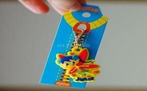 Детски Ключодържател за Цип или Чанта Zip Amis Момиченце с Крила