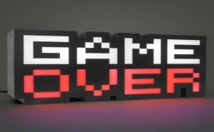 Детска Нощна Лампа - Game Over