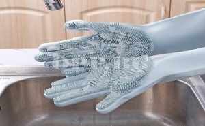 Мултифункционални Силиконови Ръкавици за Лесно Почистване