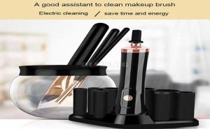 Eлектрическа Машинка за Почистване на Четки за Грим Makeup Brush Cleaner