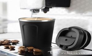 380 Мл. Черна Двустенна Термо Чаша Asobu от Серия Cafe Compact